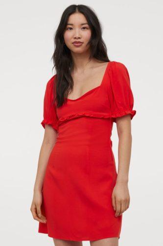 Puff Sleeved Dress