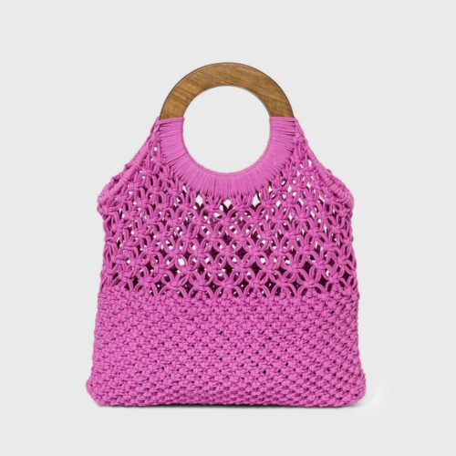 Crochet Tote Handbag