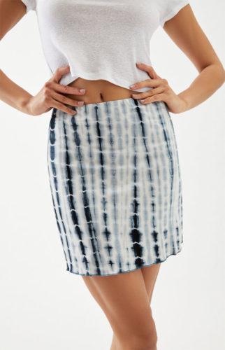 Tie Dye Mini Skirt
