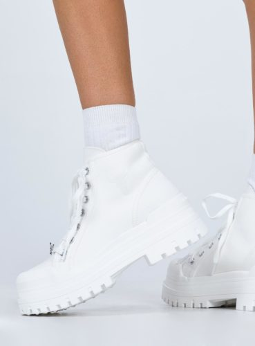 Chunky boots from Princess Polly