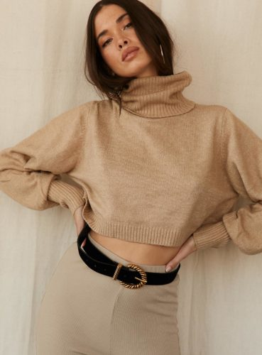 Cropped sweater from Princess Polly