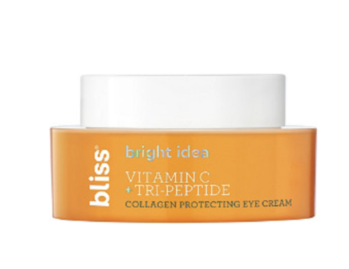 Bliss Bright Idea Vitamin C Tri Peptide Eye Cream, Summer Skincare Essential