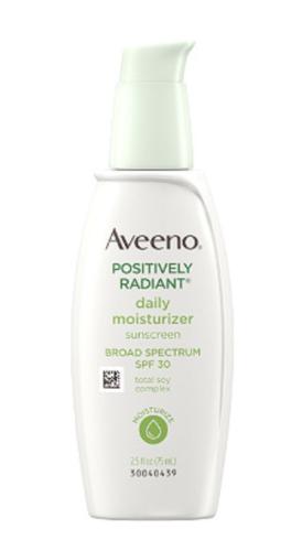 Aveeno Positively Radiant Mosturizer