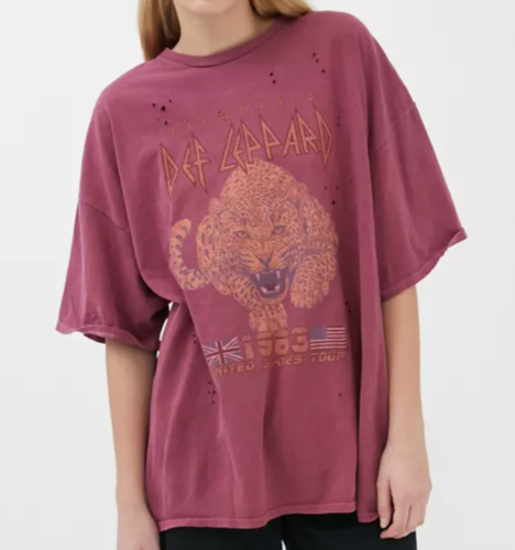 Oversized graphic tee from Urban Outfitters