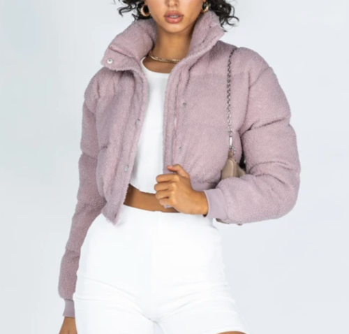 puffer jacket from Princess Polly