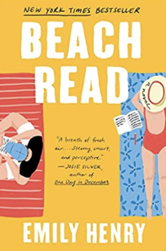Whats in my beach bag? Beach Read book written by Emily Henry