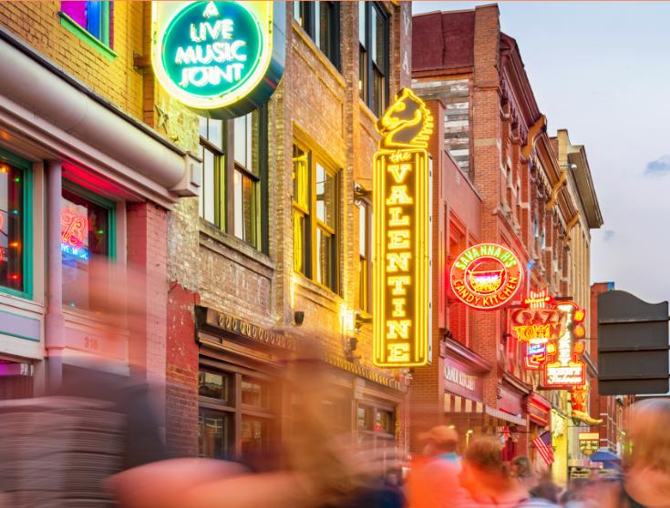 Nashville Broadway image from Canva