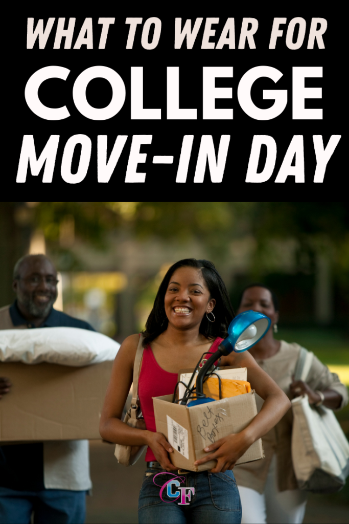 What to wear on college move in day - cute college move in day outfit ideas