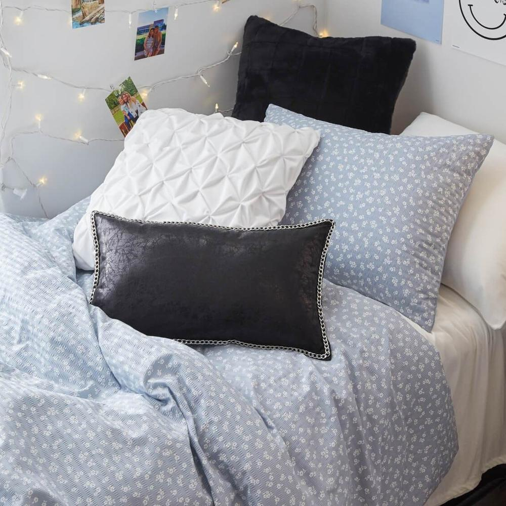 Light blue floral comforter set from Dormify