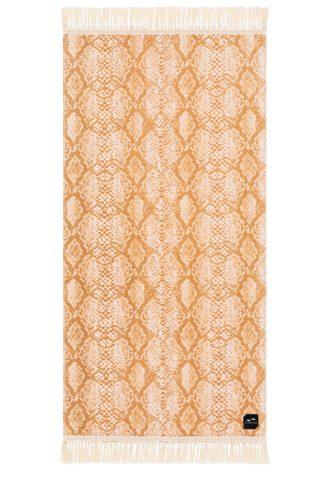 Snakeskin Print Towel
