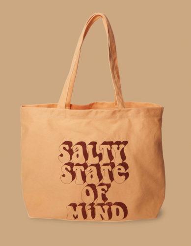 Graphic Print Tote Bag