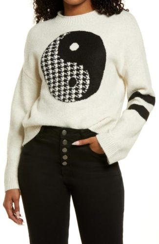 Graphic Recycled Sweater