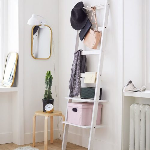 Leaning storage rack from PBdorm