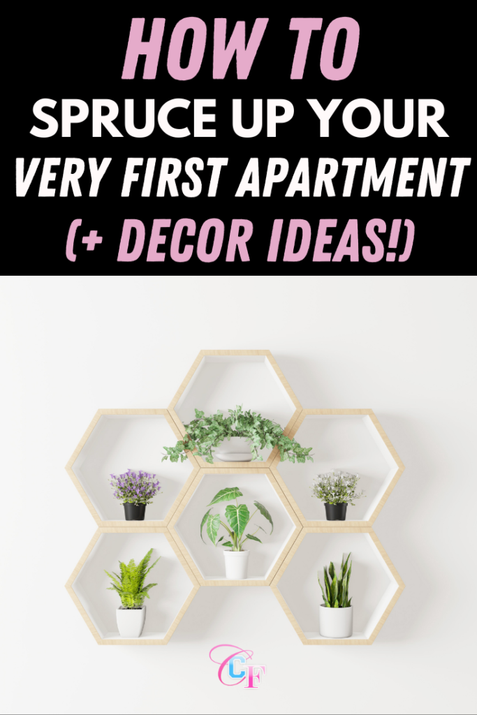 How to Spruce Up Your Very First Apartment (+ Decor Ideas)
