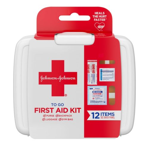 Mini first aid kit from Target