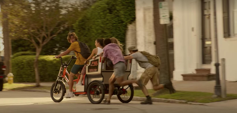 Screenshot from Netflix Outer Banks