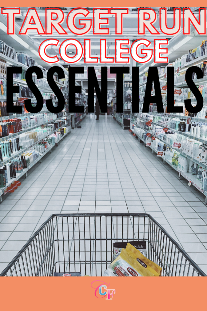 Target college essentials - photo of a shopping cart in the beauty aisle