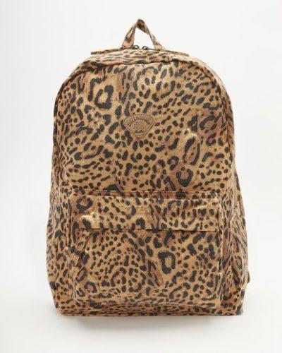 Billabong Leopard Print Backpack
