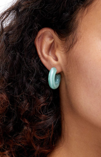 Colorful earrings from PacSun