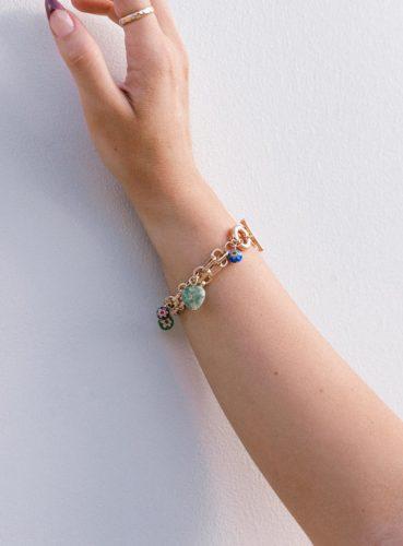 Charm bracelet from Princess Polly