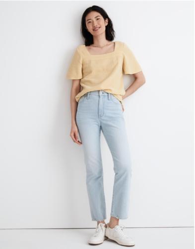 Slim Demi-Boot Jeans