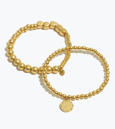 Two Pack Beaded Bracelets