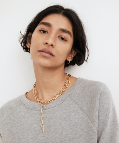 Convertible Paperclip Chain Necklace