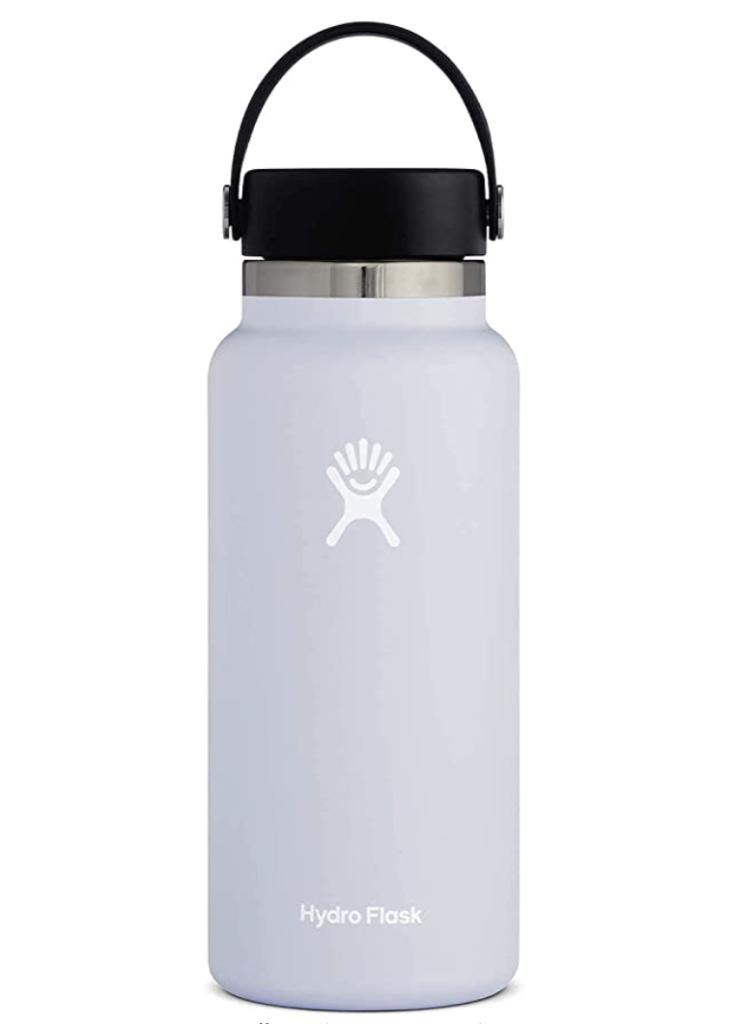 Gray hydroflask water bottle