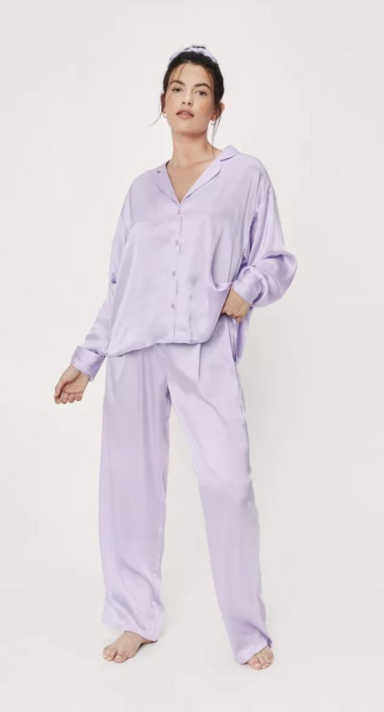Satin Pajamas set