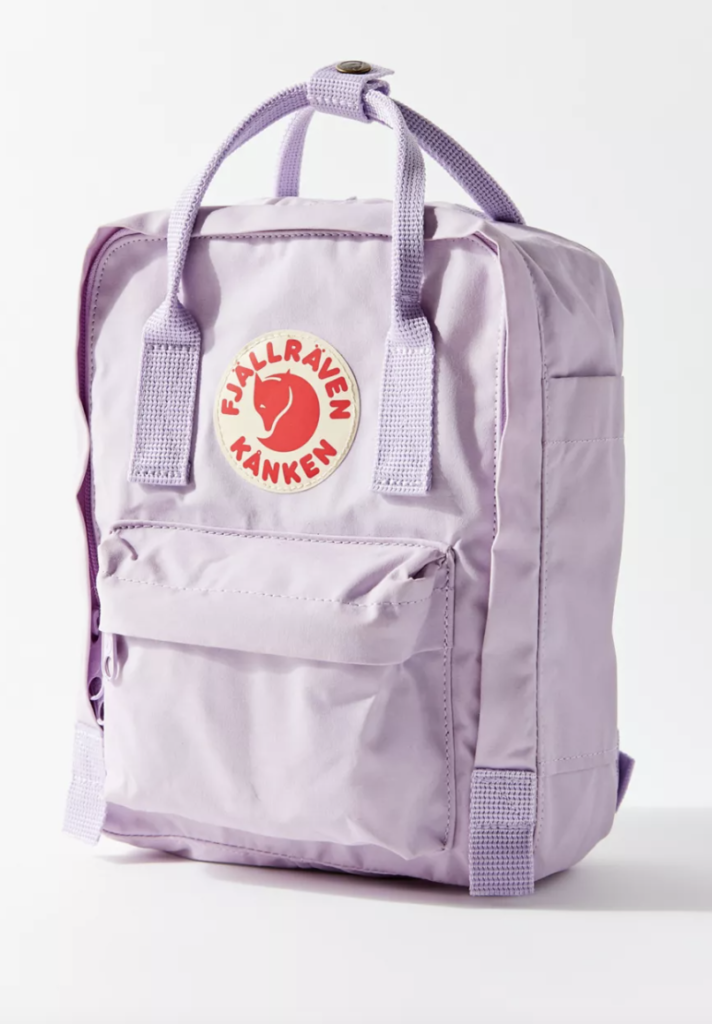 Mini fjallraven backpack in purple