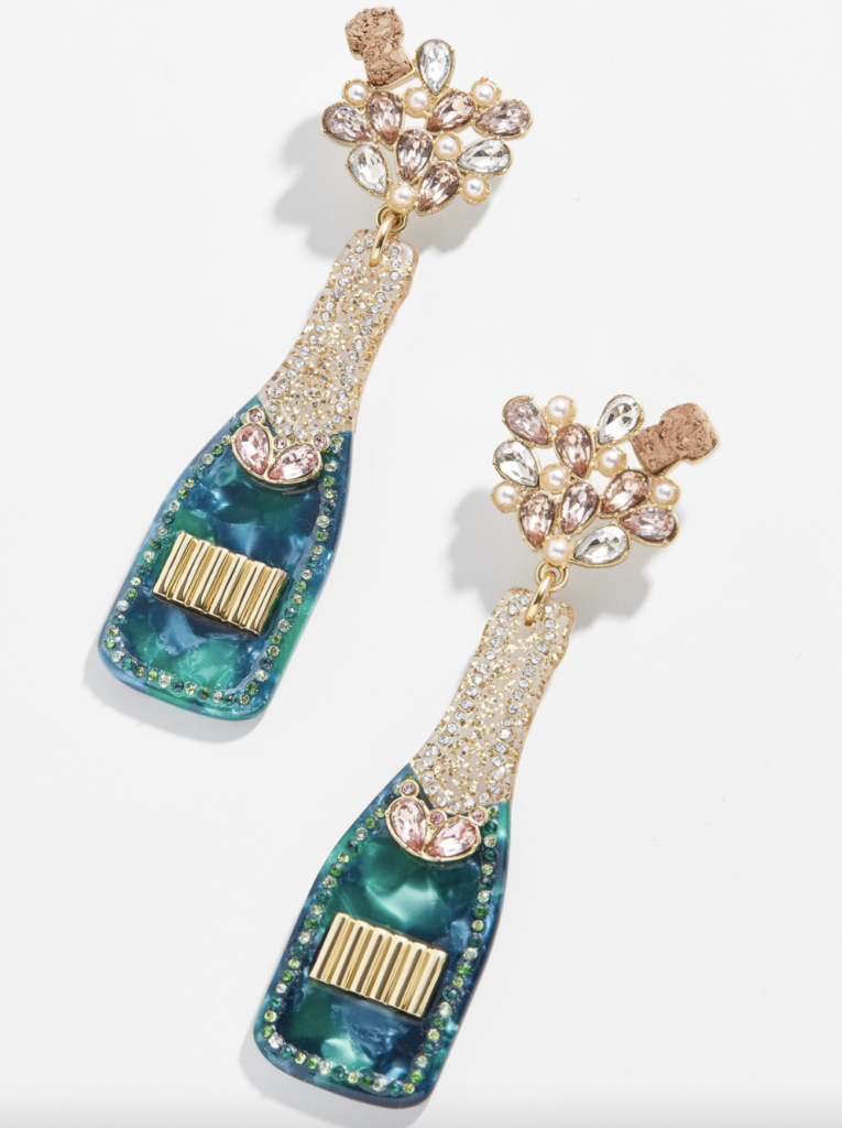 Baublebar champagne earrings