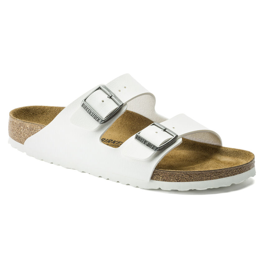 Birkenstock sandals in white