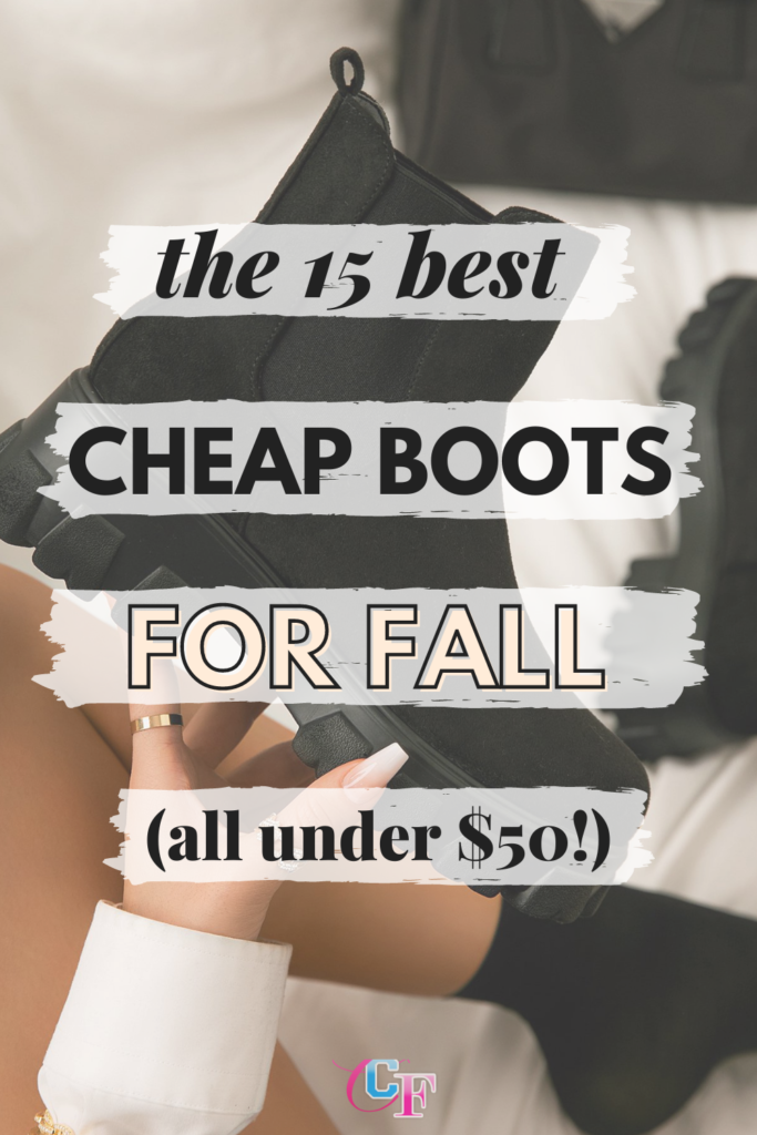 The 15 Best Cheap Boots for Fall (all under !) Image of manicured hand holding a black Chelsea boot.