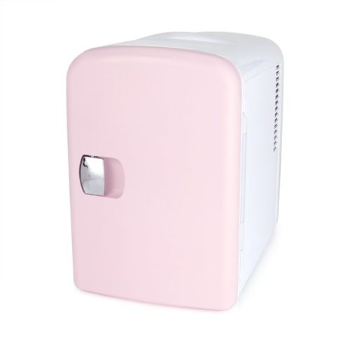Gifts for college students - pink mini beauty fridge