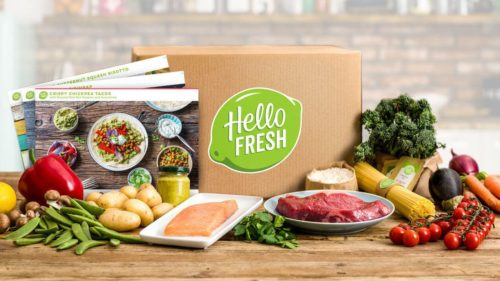 HelloFresh meal prep kit - gifts for college students