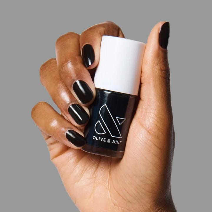 Olive and June E+M polish