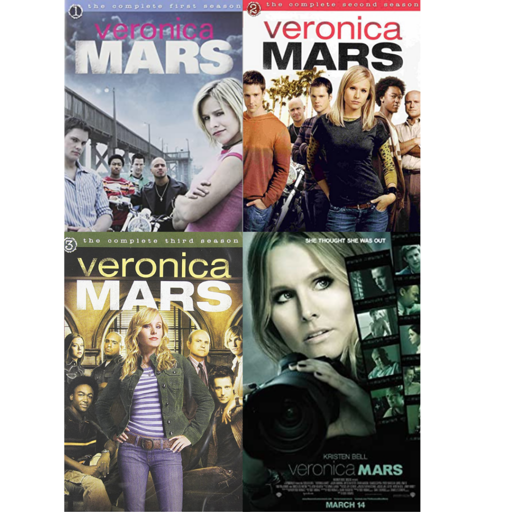 Roundup of Veronica Mars posters and DVD covers