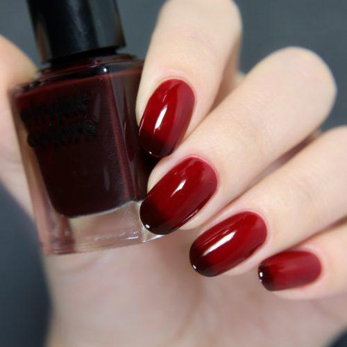 Cirque Colors nail polish in Rothko Red
