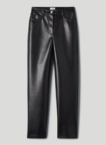 Fall fashion trend: Leather pants - photo of Aritzia Melina Faux Leather Pants