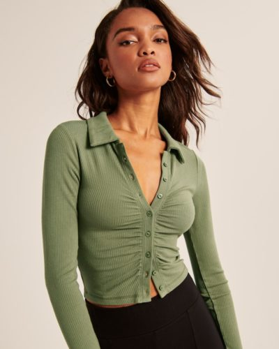 Abercrombie & Fitch Polo Top